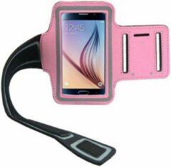 Elemental GOods Handige Mobielhouder Arm Voor Hardlopen - Roze - Armband - Telefoonhouder - Muziek - Joggen - Sporten - Fitness - Cardio