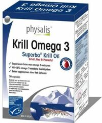 Physalis Krill Omega 3 Capsules