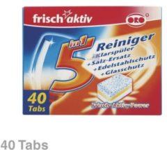 ORO Spülmaschinen-Reiniger Tabs frisch-aktiv 5in1 800g für Geschirrspüler 10007913
