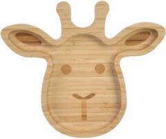 BamBam Giraffe Plate - bamboe