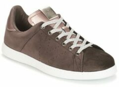 Bruine Lage Sneakers Victoria DEPORTIVO TERCIOPELO