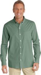 Groene Coolibar UPF 50+, 98% UV-bescherming Heren Outdoorshirt Maat S