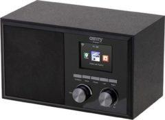 Zwarte Camry CR 1180 - Internet radio met Wi-Fi