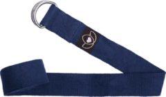 Lotus - Superyoga Yoga riem / strap extra lang indigo - Lotus