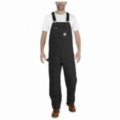 Carhartt - Bib Overall - Vrijetijdsbroek maat 40 - Length: 30, grijs/zwart/grijs/zwart/zwart/purper/blauw/beige/rood/blauw/zwar