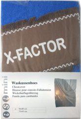 Marineblauwe ISI MINI - Waskussenhoes - Model: X-Factor - Kleur: Marine Blauw