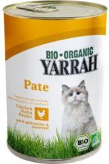 12x Yarrah Bio Pate In Blik Kattenvoer Kip 400 gr