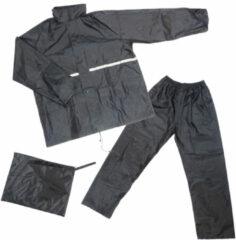 Dresco - Regenpak - Maat M - Zwart