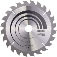 Bosch Kreissägeblatt Optiline Wood für Handkreissägen, 2