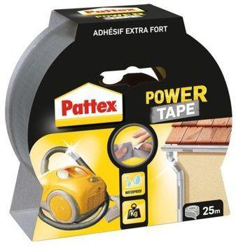 Afbeelding van Pattex Power Tape Ducttape Ducktape Waterbestendig - 25 Meter - grijs