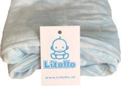 Litollo® Zwangerschapskussen | Voedingskussen | Lichaamskussen | Zijslaapkussen |Body pillow | hoes XXL 280cm | Zachte coral fleece stof | Blauw