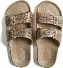 Freedom Moses Slippers Celeste Kids Slides Beige Maat:32/33