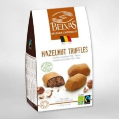 Belvas Praline hazelnoot truffels suiker vrij