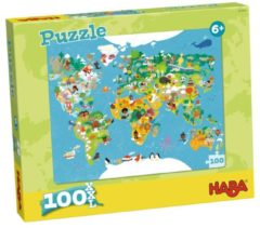HABA Sales GmbH & Co.KG Haba - Puzzel - Wereldkaart