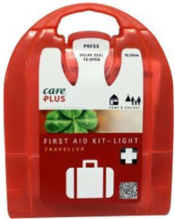 Care Plus - First Aid Kit Light Traveller - Eerste-Hulpset maat One Size, rood