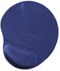 ValeDelucs XL Ergonomische Muismat Met Polssteun - Blauw - Antislip Gel mat - Geschikt voor gaming muis / toetsenbord en muizen