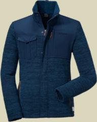 Schöffel Fleece Jacket Luzern2 Men warme Herren Strickfleecejacke Größe 56 navy blazer