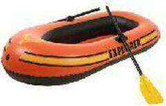 Oranje Rubberboot explorer 200 totaalset Intex