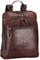 Bruine Leonhard Heyden Roma Business Backpack brown backpack
