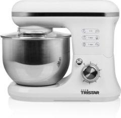 Tristar MX-4817 Keukenmachine – Inclusief 3 deeghaken – Wit
