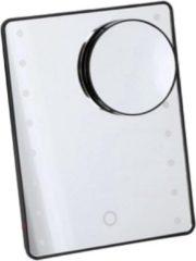 Orange85 Make-up Spiegel - met Verlichting - Zwart - LED - Opmaak spiegel - Make up spiegel met verlichting led - Vergroten - Spiegel met licht - Spiegel Zwart - Modern