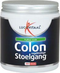 Lucovitaal - Colon Regelmatige Stoelgang vezelpoeder - 300 gram - Voedingssupplementen