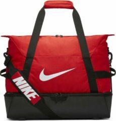 Rode Nike Academy Team Voetbaltas met schoenenvak - Maat Medium