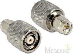Zilveren DeLOCK 88853 RP-TNC SMA Zilver kabeladapter/verloopstukje