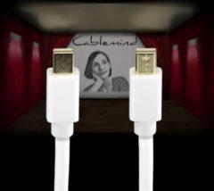 Cablemind Mini DisplayPort 1080p Kabel in Weiß, verschiedene Längen Länge: 1 m