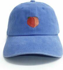Dad Brand Pet PEACH - Premium Baseball Cap - Blauw - One-Size Dad Pet Heren