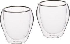 Transparante Set van 2 Tumblers / Glazen - 250ml - KitchenCraft | Le'Xpress