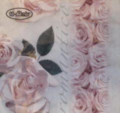 Ti- Flair Ti-flair - servetten - 33 x 33 - lunchservetten - Vintage rose