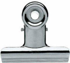 Zilveren Nivo Verchroomde Clips - 50 mm - 6 stuks