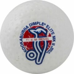 Hockeybal Kookaburra dimple elite II wit