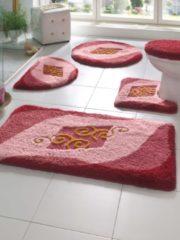Rosa Bademattenserie 'Zaasch' Webschatz pink