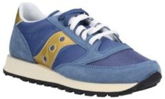 Blue Saucony jazz o' sneakers