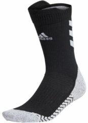Zwarte Sokken adidas Alphaskin Traxion Crew Lightweight Cushioning Socks