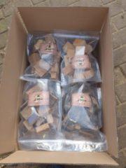 Rolfrookhout.nl Rookhout pakket appel / kers / beuk / eik /snippers beuk en eik