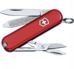 Rode Victorinox CLASSIC 0.6223 Zakmes Aantal functies: 7 Rood