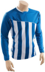 Precision Voetbalshirt Precision Polyester Blauw/wit Maat Xxl