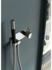 Hotbath Cobber douchemengkraan inbouw geborsteld nikkel HBCB027/CB027EXTGN