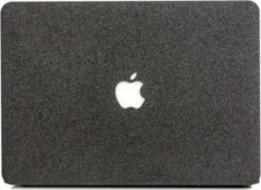Lunso - cover hoes - MacBook Air 13 inch - glitter zwart