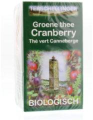 Terschellinger Cranberries Groene Thee Met Cranberry Eko
