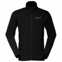 Zwarte Norrøna - Falketind Warm1 Jacket - Fleecejack maat XXL zwart