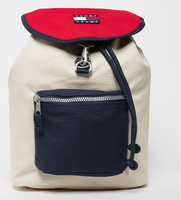 Beige Rugzakken TJM HERITAGE BACKPACK CANVAS by Tommy Hilfiger