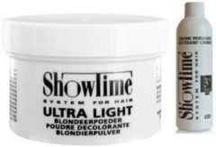 [Combo] Showtime Ultralight Blondeerpoeder (100gram) + Showtime Oxidant Creme Peroxide 3% - (250ml)