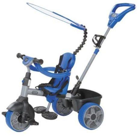 Afbeelding van Blauwe Little Tikes 4 in 1 Driewieler Jongens Blauw