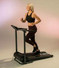 Zwarte Merkloos / Sans marque Foldable Treadmill Pro loopplank, loopband inklapbaar, loopband fitness