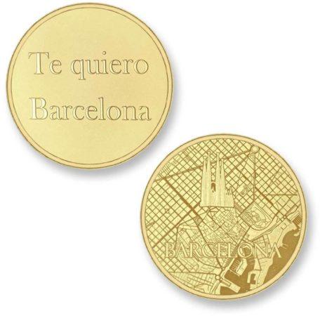 Afbeelding van Gouden Mi Moneda Del Mundo - Barcelona gold Del Mundo - Barcelona gold munt