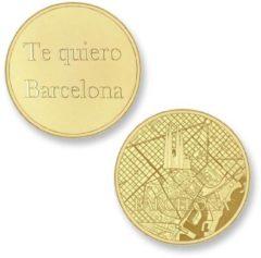 Gouden Mi Moneda Del Mundo - Barcelona gold Del Mundo - Barcelona gold munt